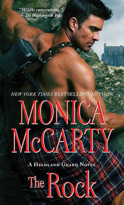 The Rock by Monica McCarty: Review + Giveaway