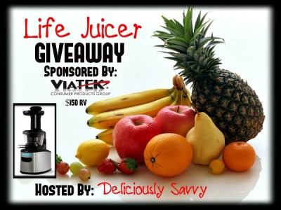 The Life Juicer from Viatek Giveaway #Viatek