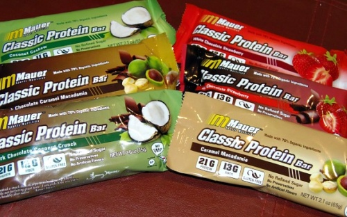 Fuel Your Fitness with Mauer Sports Nutrition Organic Protein Bars