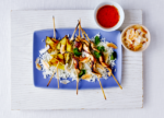 Coconut Pineapple Skewers For Grilling Season - Recipe | amidlifewife.com