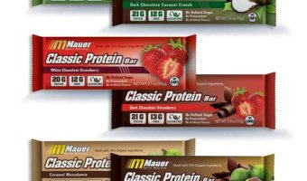 Save on Mauer Sports Nutrition Organic Protein Bars with coe Chris20