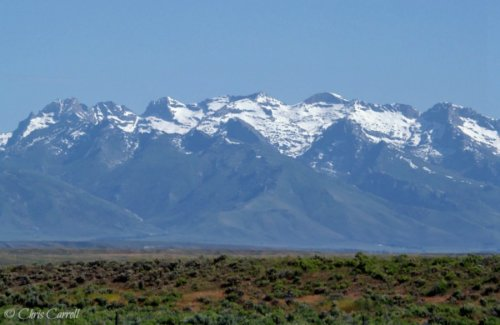 Summer Snow on the Mountains
