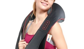 Get Relief With a Rechargeable Neck and Back Massager