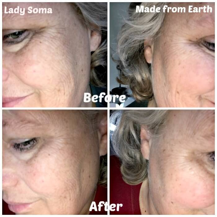 Battle of Two Eye Creams - Lady Some vs Made From Earth amidlifewife.com