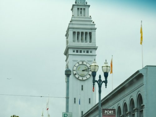 San Francisco Clock Tower at the Ferry Building