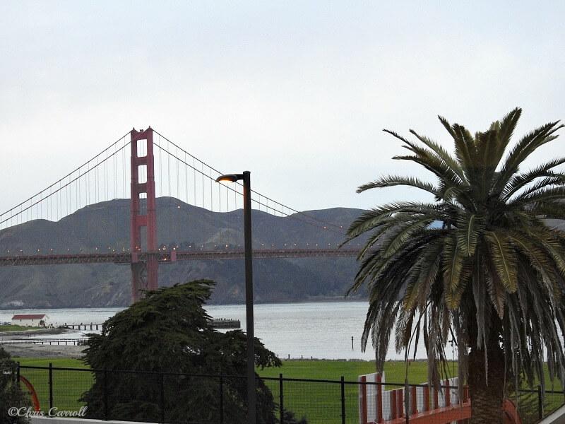 The Stunning Golden Gate at Dusk