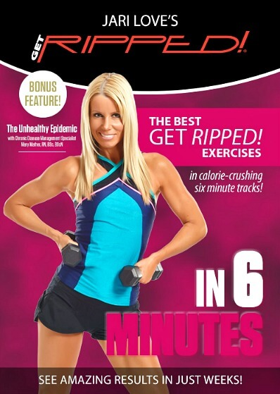 Jari Love Helps You Get Ripped in 6 Minutes: Fitness Video & Streaming