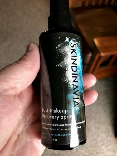Introducing Skindinavia Post Makeup Recovery Spray