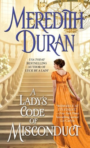 A Lady's Code of Misconduct by Meredith Duran: Book Review & Reckless Read Giveaway