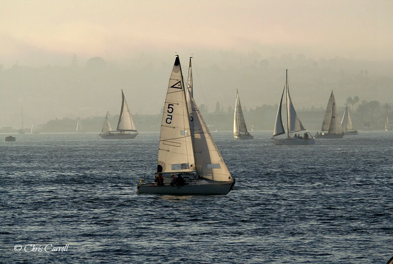 Things to See in San Diego - sailing ships