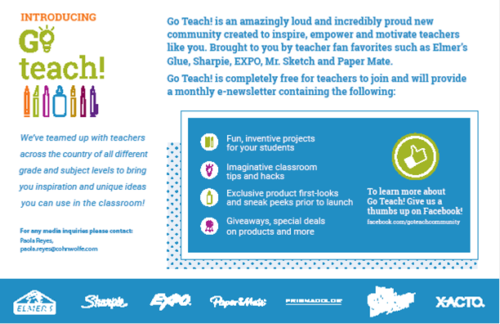 Celebrate Teachers in the Go Teach Community