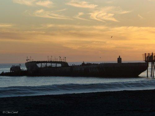 Santa Cruz Pier at Dusk