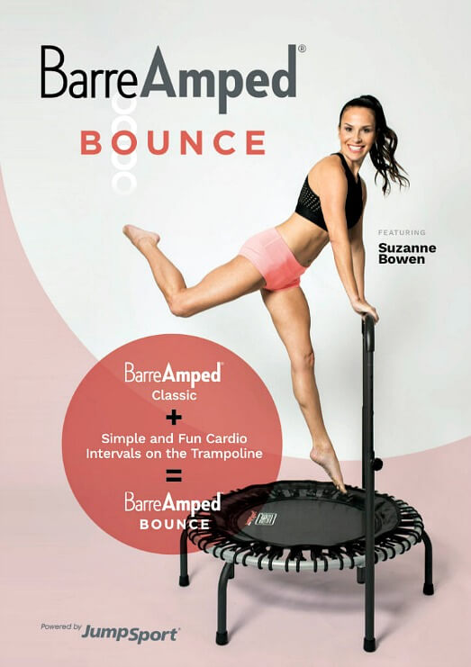 Suzanne Bowen BarreAmped Bounce Fitness DVD - review