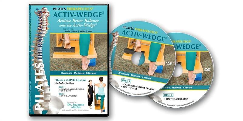 Help for Better Balance: Activ-Wedge DVD and Activ-Wedge by Pilates Therapeutics