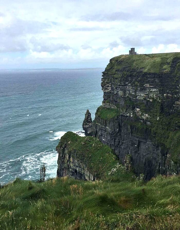 Visiting the Cliffs of Moher Through the Eyes of my Son
