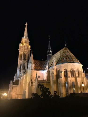 A Tour of Budapest at Night Through the Eyes of My Son
