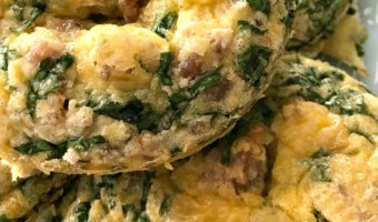 Low Carb Baked Egg Muffin Recipe for On The Go - AMidlifeWife