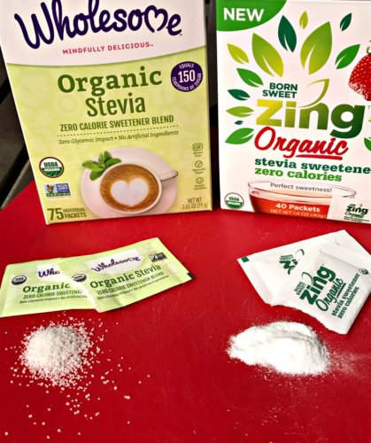 The Difference in Stevia Products: Comparison and Taste Test