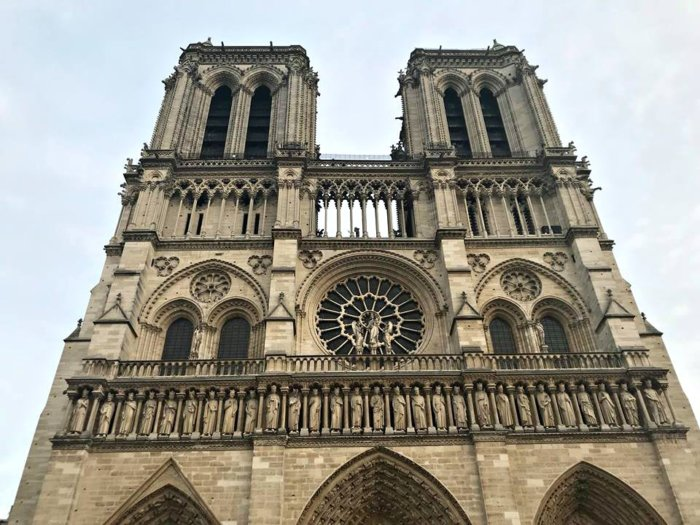 A Visit to Paris Through the Eyes of My Son - Notre Dame