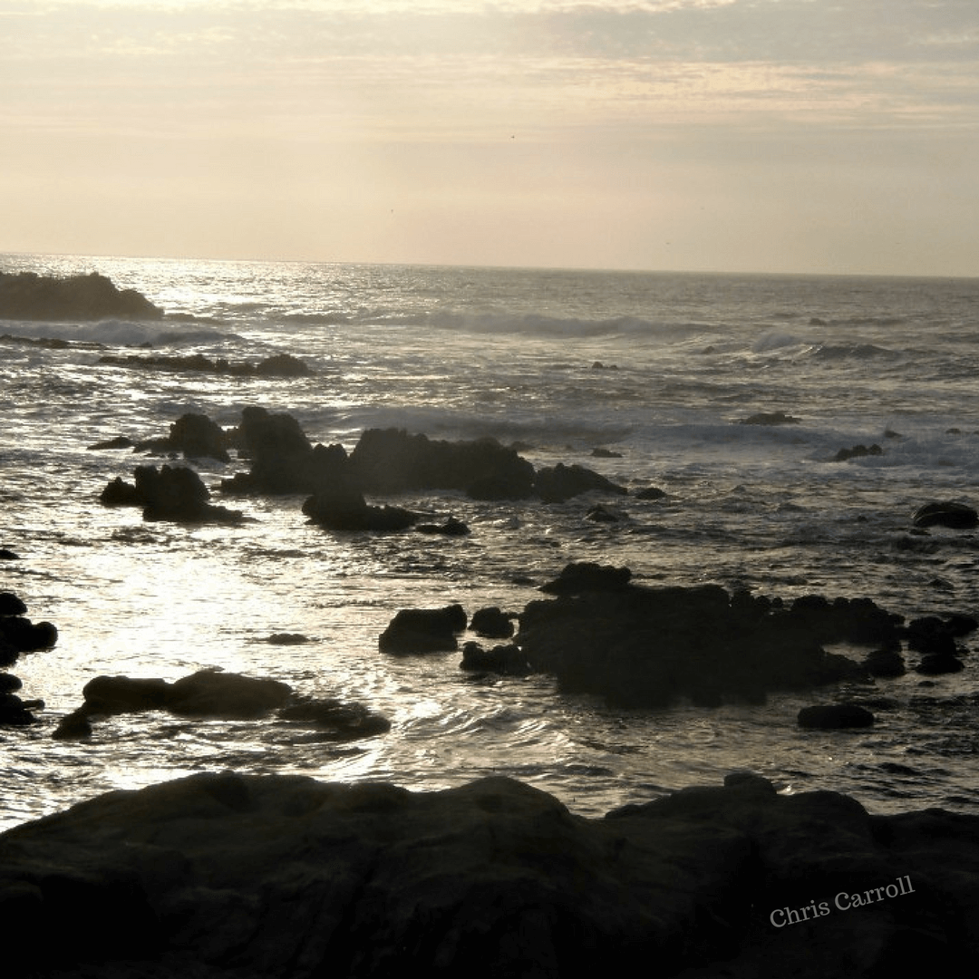 Winter Water at the California Coast - A Midlife Wife