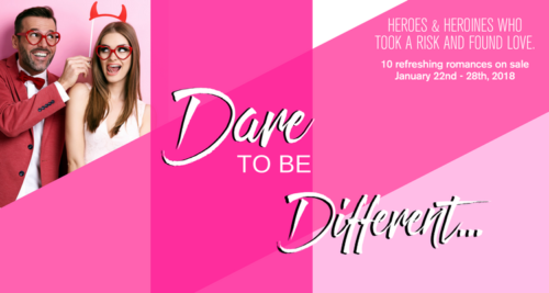 Dare to be Different! Entangled Romance Book Sale