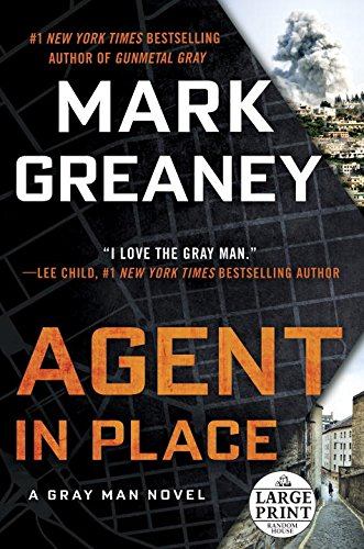 Agent in Place by Mark Greaney - Book Review - A Midlife Wife