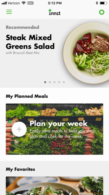 Need Some Meal Planning Inspiration? Innit Can Help - Custom Recipes