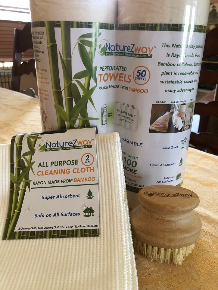 Easy to Use and Reuse NatureZway Household and Cleaning Products | A Midlife Wife